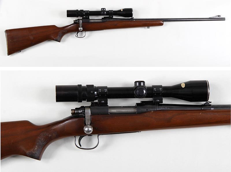 Remington M722 bolt action sporting rifle in a 257