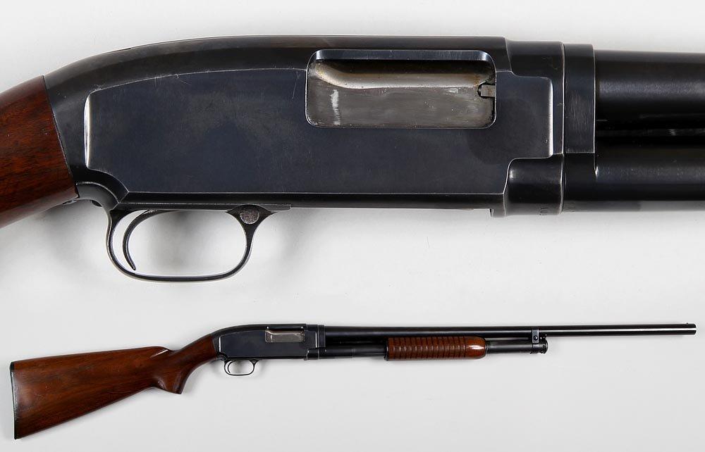 Winchester M12 Field grade in 12g. with plain barrel