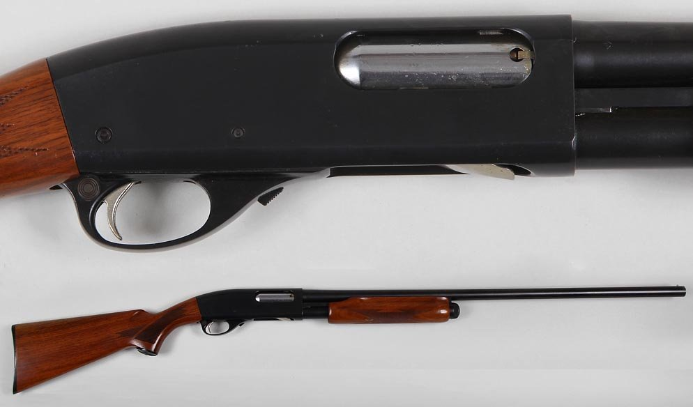 Remington M870 ''Wing Master'' in 12g. pump. The plain