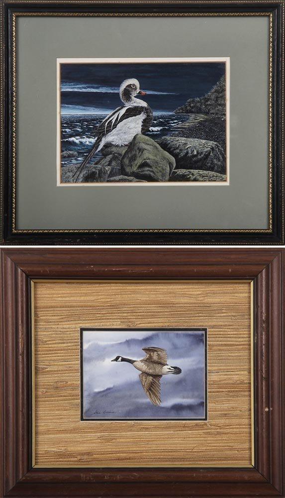 Group of (2) paintings: Steve Lenardi, ''Canada