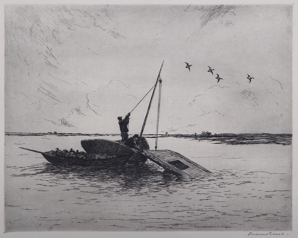 ROLAND CLARK (American, 1874-1957), ''Capt. Billy's