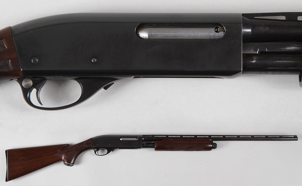 Remington Wingmaster Model 870 LW in 410g. The vent rib