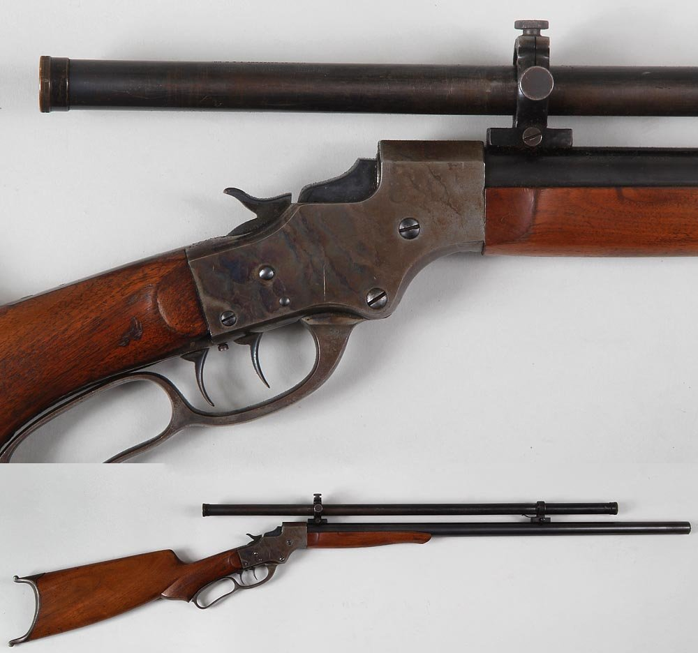 J. Stevens Target or Match Rifle with Stevens Scope in