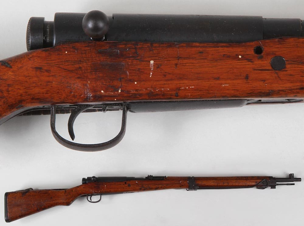 Japanese type 99 military rifle in 7.7mm. The barrel