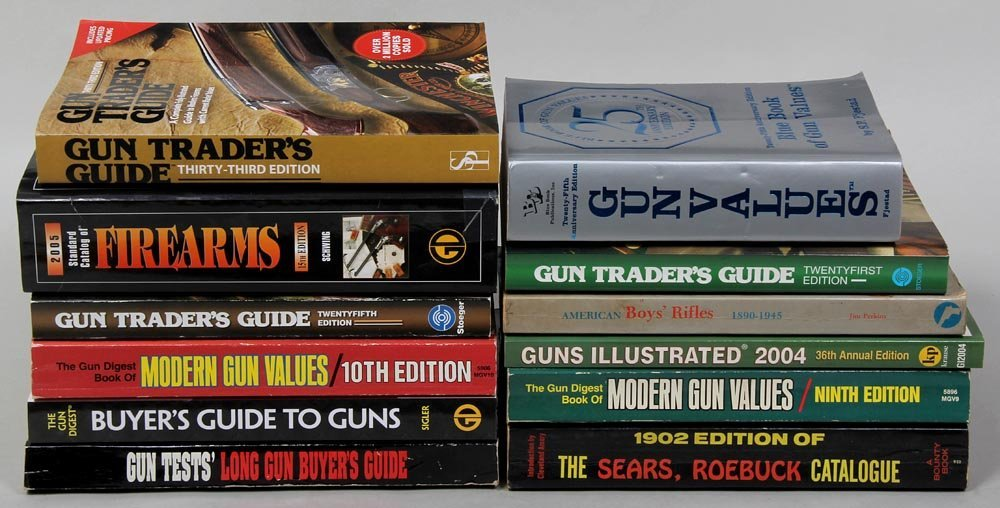 Group of (12) Gun Value Guides.