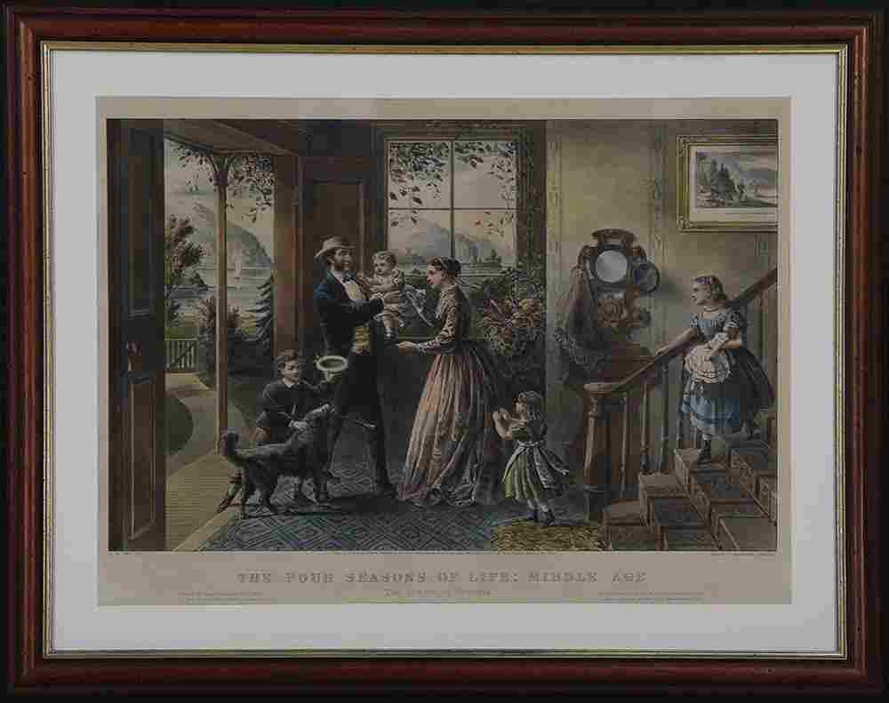 Currier & Ives, after FRANCES F. PALMER (American,