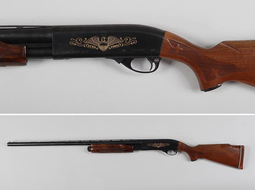 Remington model 870 200th anniversary Trap Gun. The