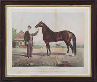 CURRIER  IVES Hambletonian colored lithograph