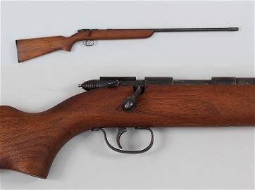 Remington M22 skeetrap in 22 smooth bore. Barrel