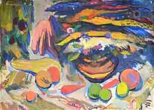 Mariam Aslamazyan(Armenian, 1910-1998).