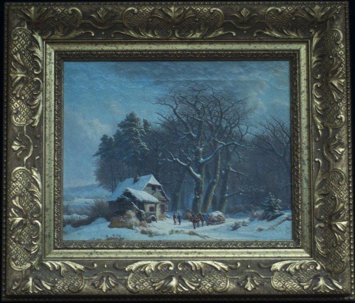 European Winter Landscape
