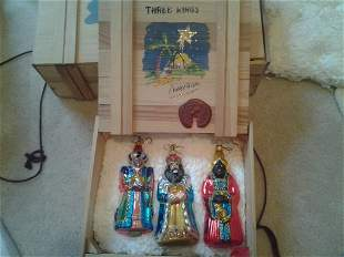 "Kurt Adler ""THREE KINGS"" Christmas"