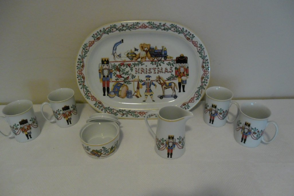 """Block Spal """"Whimsy Christmas"""" 8 piece set"""