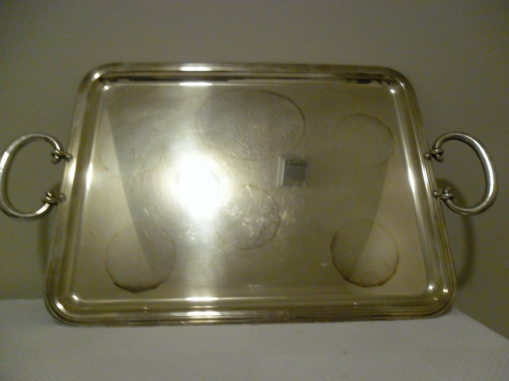 Christoffel Silver Serving Tray