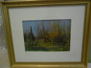 William Anzalone Original Pastel