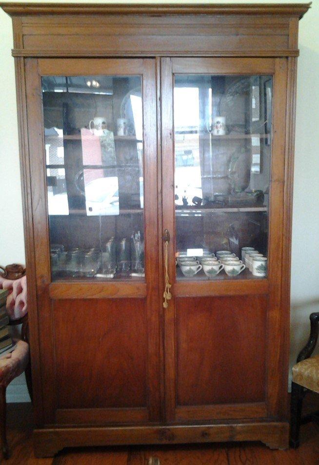 Antique Oak Welsh Cabinet
