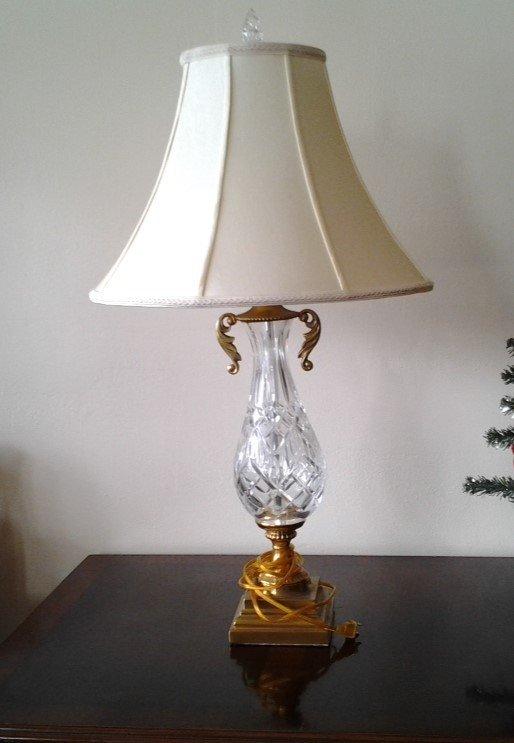 Vintage Waterford Table Lamp