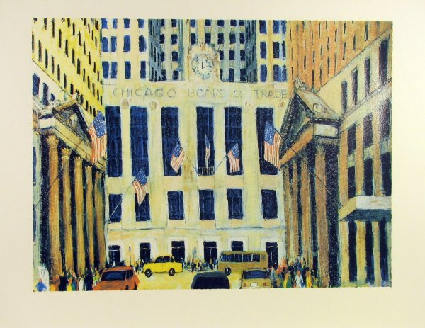 5024: Chicago Board of Trade Serigraph