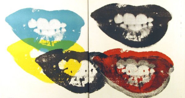 "5132: Andy Warhol Lithograph ""Lips"""