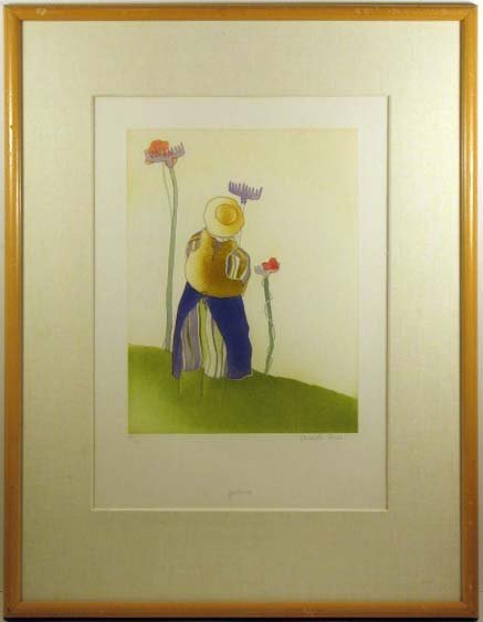 5515: Charlotte Reine Lithograph Pencil Signed & Number