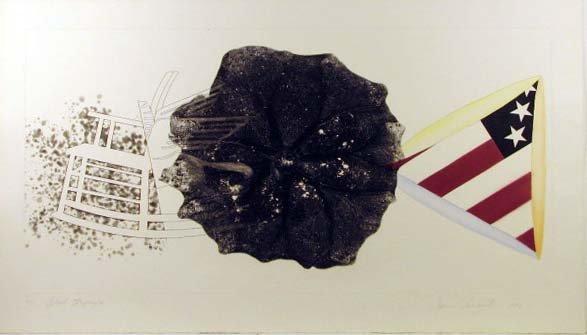 5755: James Rosenquist Pencil Signed & Numbered