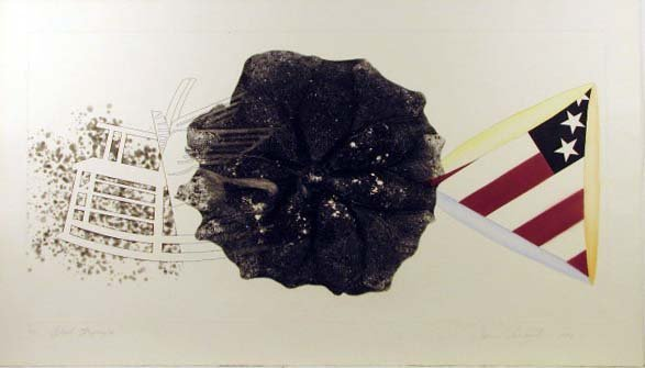 5755: James Rosenquist Pencil Signed & Numbered