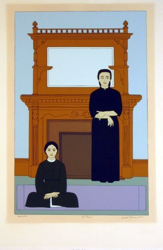 7013: Will Barnet Pencil Signed & Numbered
