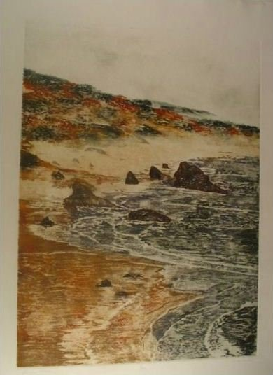 3309: C. McNeill Etching Aquatint Signed & Numbered