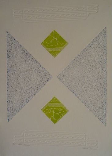 3325: Shirl Green Etching Aquatint Signed & Numbered