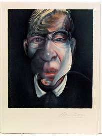 128: Francis Bacon Pencil Signed & Numbered