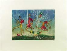 410 Roberto Matta Etching Aquatint Signed  Numbered