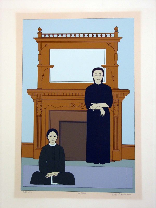 1017: Will Barnet Pencil Signed & Numbered
