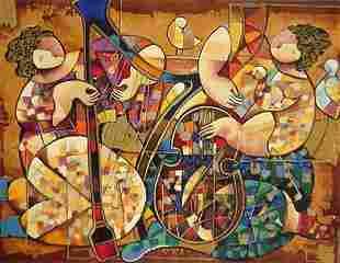 Dorit Levi Israeli Art Signed & Numbered