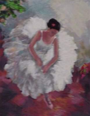 Hedva Ferenci Ballerina (Degas Style) Signed & Nu