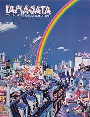 Yamagata Signed Poster