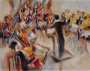 Michael Rosenvain Israeli Art Signed & Numbered