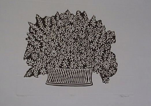 3621: Joy Jerviss Embossed Etching Signed & Numbered