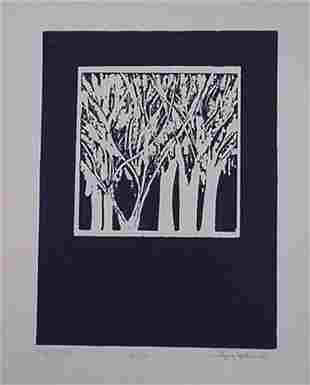 Joy Jerviss Embossed Etching Signed & Numbered