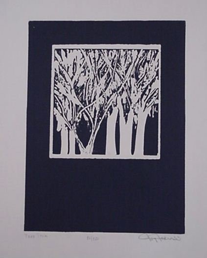 3623: Joy Jerviss Embossed Etching Signed & Numbered