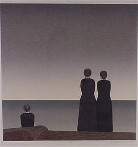 3757: Will Barnet Pencil Signed & Numbered