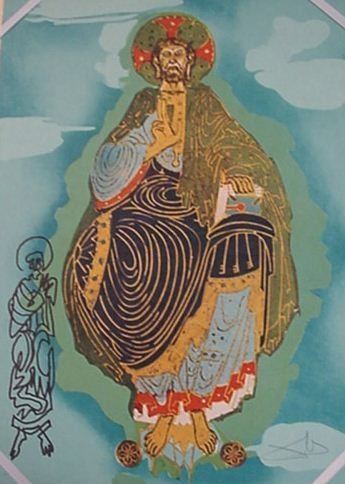 4111: Dali Pantocrator in Folio Signed & Numbered