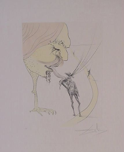 4113: Dali Glory Picasso Pencil Signed & Numbered