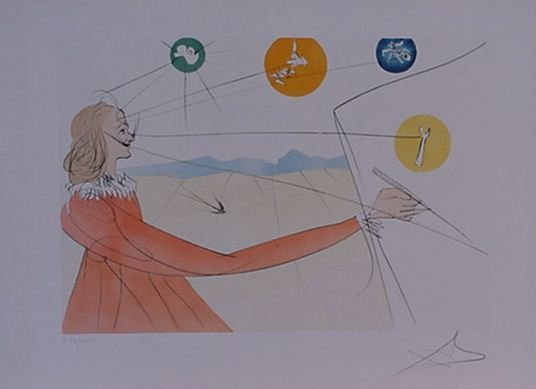 4114: Dali Dalinean Prophecy Signed & Numbered
