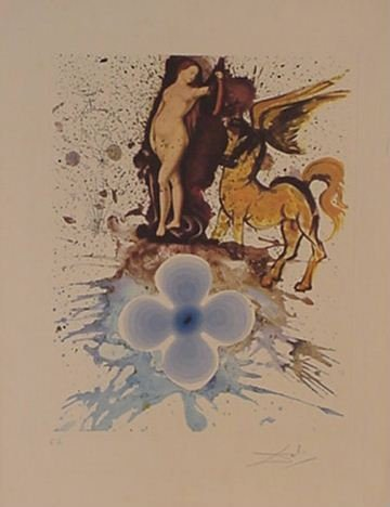 4115: Dali Hommage a Carnach Signed & Numbered