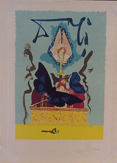4116: Dali The Resurrection Pencil Signed & Numbered