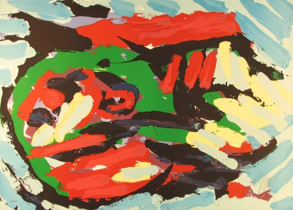 2015: Karel Appel Lithograph Pencil Signed & Numbered