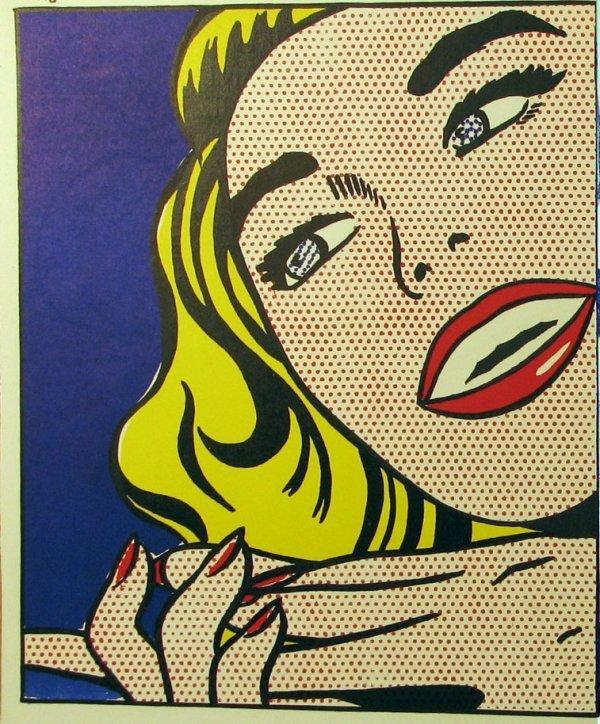 2264: Roy Lichtenstein 1964 Original Lithograph