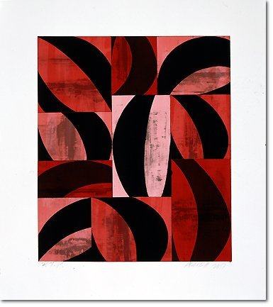 2816: Charles Arnoldi Lithograph Pencil Signed & Number