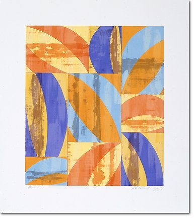 2817: Charles Arnoldi Lithograph Pencil Signed & Number