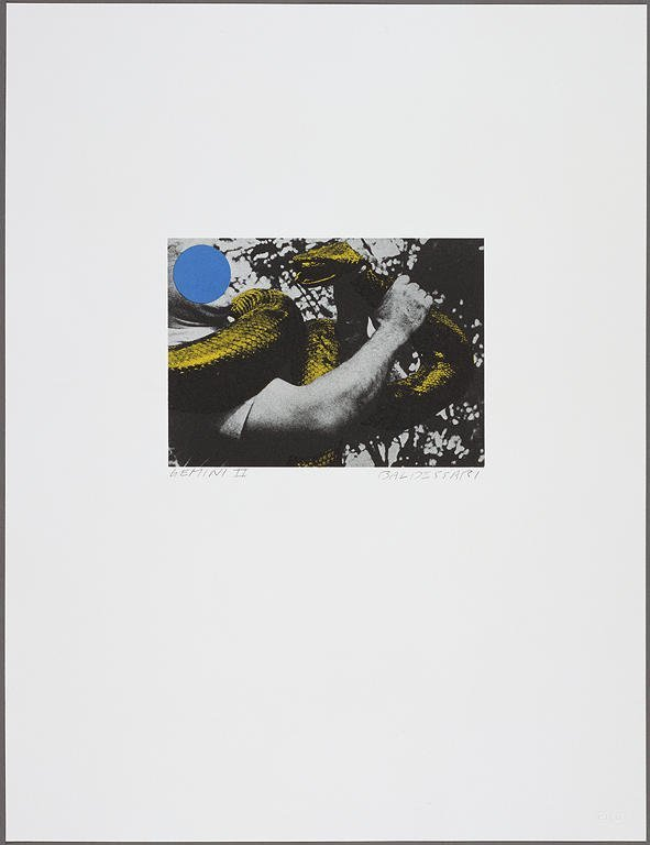 2823: John Baldessari Lithograph Pencil Signed & Number